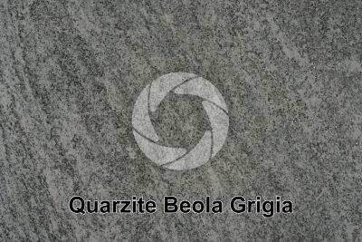 Quarzite Beola Grigia. Piemonte. Italia. Sezione lucida