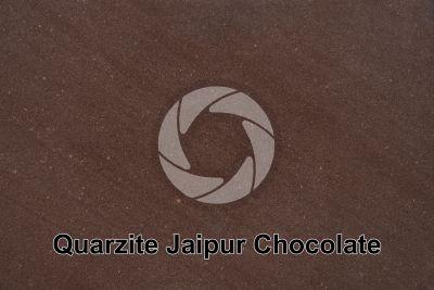 Quarzite Jaipur Chocolate. India. Sezione lucida
