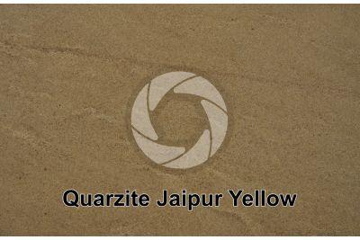 Quarzite Jaipur Yellow. India. Sezione lucida
