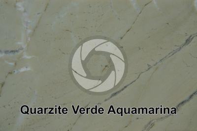 Quarzite Verde Acquamarina. Brasile. Sezione lucida