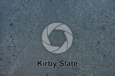 Kirby Slate. Burlington. Cumbria. England. Polished section