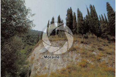Moraine. Val Borlezza. Lombardy. Italy