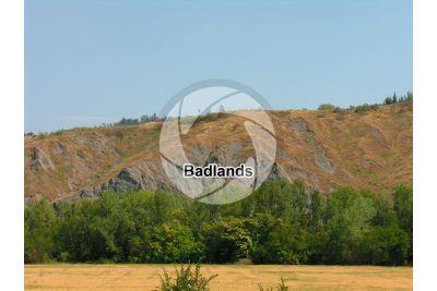 Badland. Modenese Apennines. Emilia Romagna. Italy