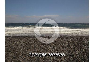 Spiaggia sassosa. Tenerife. Isole Canarie. Spagna