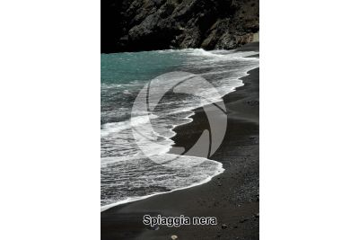 Spiaggia nera. La Palma. Isole Canarie. Spagna