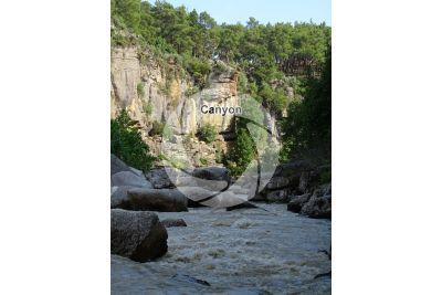 Canyon. Koprulu Canyon. Antalya. Turkey