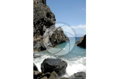 Cliff. La Gomera. Canary Islands. Spain