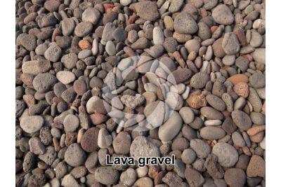 Lava gravel