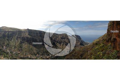 Barranco. La Gomera. Isole Canarie. Spagna