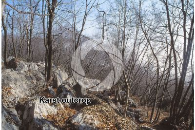 Karst outcrop