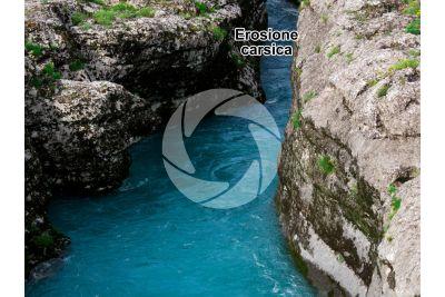 Erosione carsica. Albania
