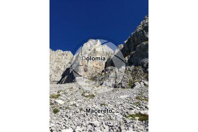 Macereto. Monte Presolana. Lombardia. Italia