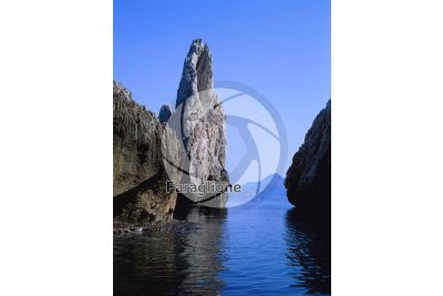 Faraglione. Buggerru. Sardegna. italia