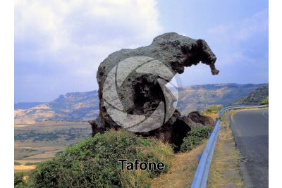 Tafone. Elephant rock. Castelsardo. Sardinia. Italy