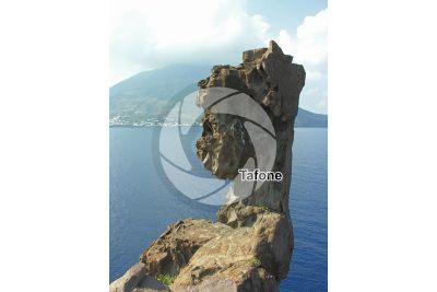 Tafone. Strombolicchio. Aeolian Islands. Sicily. Italy
