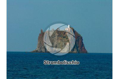 Neck. Strombolicchio. Isole Eolie. Sicilia. Italia