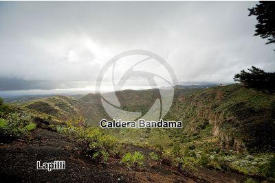 Bandama Caldera. Gran Canaria. Canary Islands. Spain