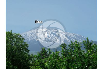 Mount Etna. Sicily. Italy