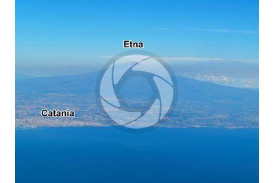 Monte Etna. Sicilia. Italia