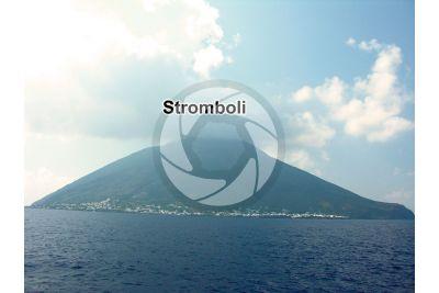 Stromboli. Sicilia. Italia