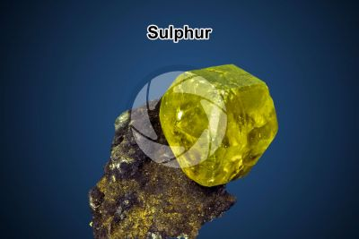 Sulphur. Sicily. Italy