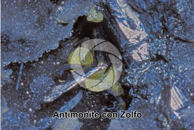 Antimonite con Zolfo