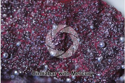 Cinnabar with Mercury
