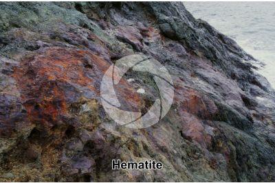 Hematite. Elba. Tuscany. Italy
