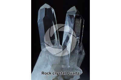 Quartz. Rock crystal