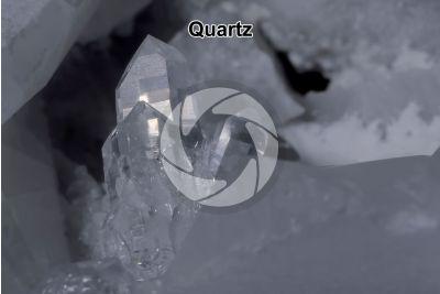 Quartz. Carrara. Tuscany. Italy