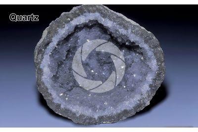 Quartz. Geode