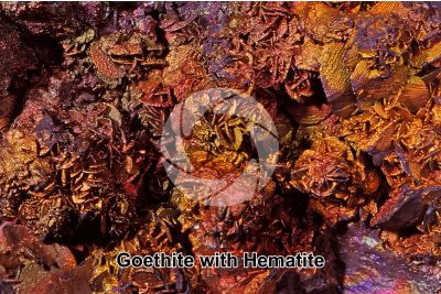 Goethite with Hematite