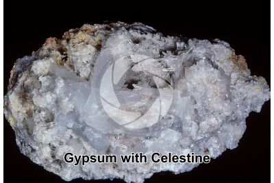 Gypsum with Celestine