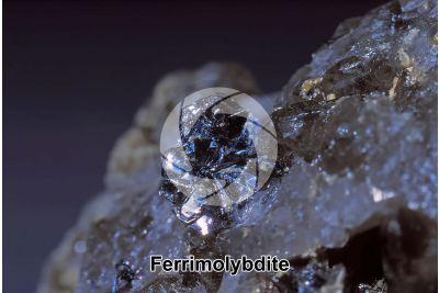 Ferrimolybdite