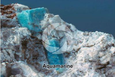 Aquamarine. Monte Disgrazia. Lombardy. Italy