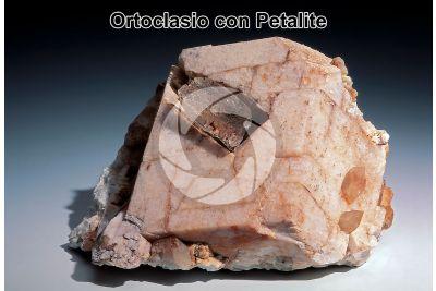 Ortoclasio con Petalite